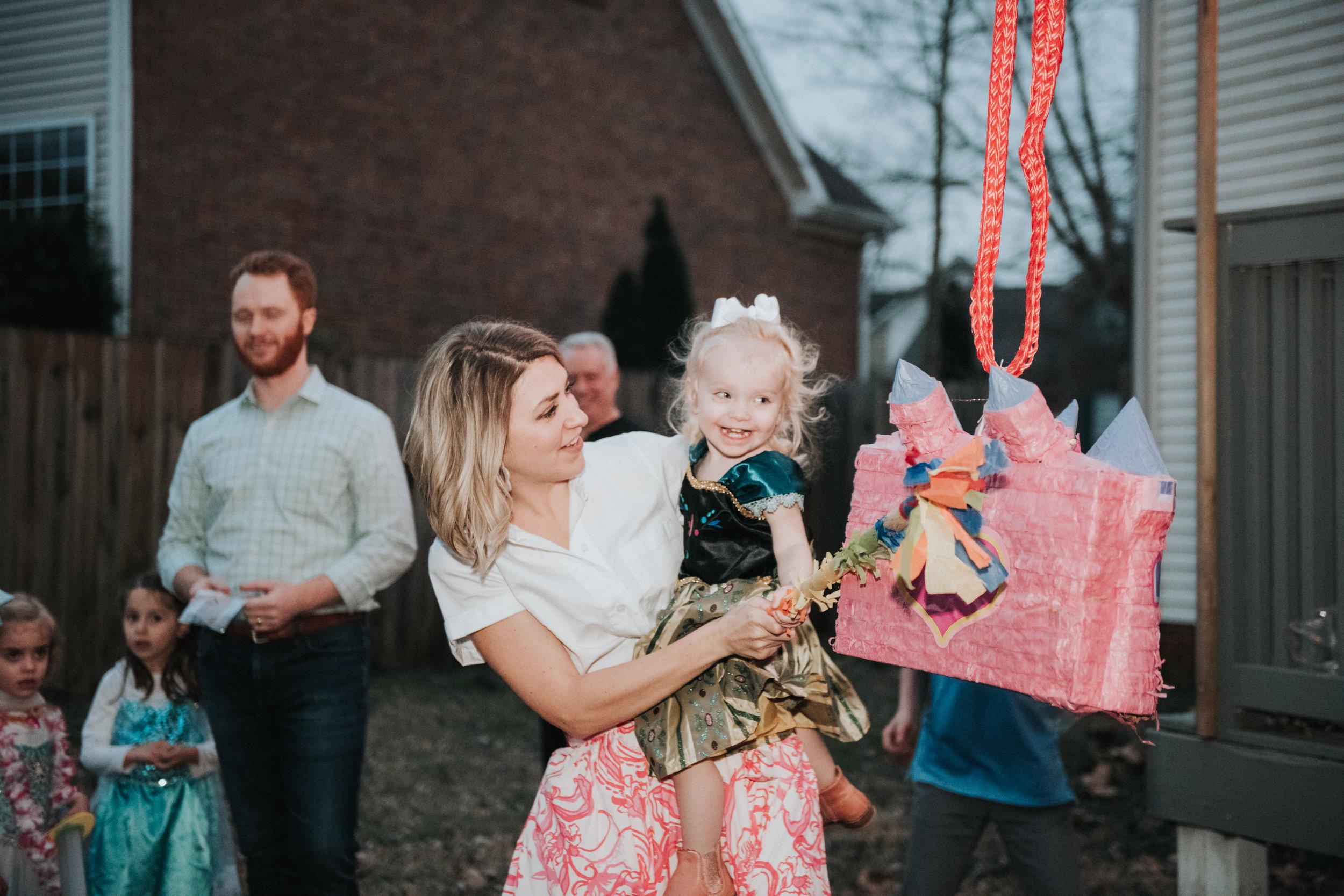 princess party piñata