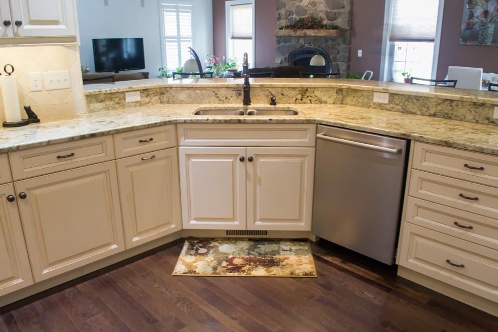 White painted custom cabinetry oyster glaze breakfast bar -11.jpg
