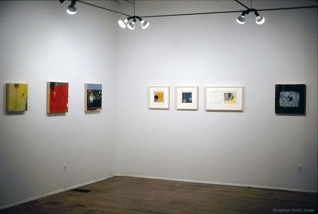 Installation view of solo exhibition at the Kansas City Artists Coalition.