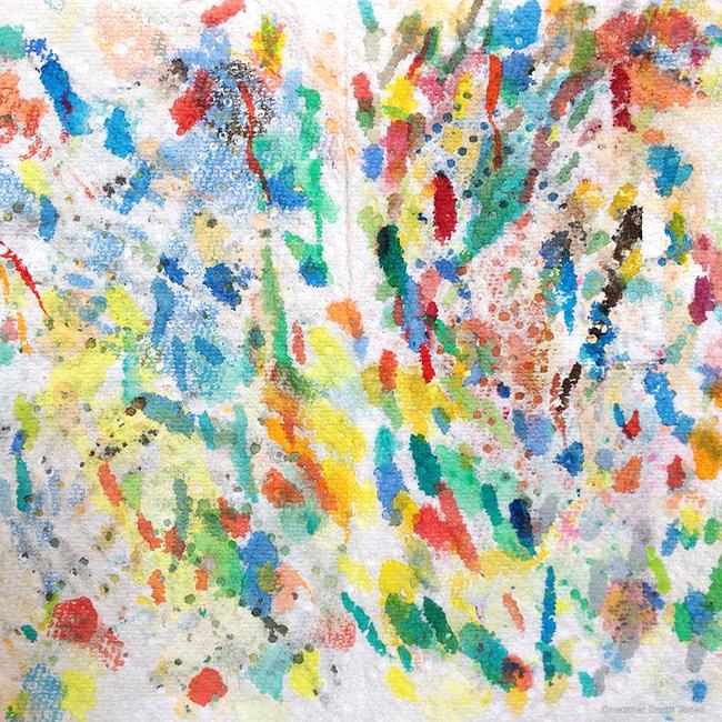 my paint blotter