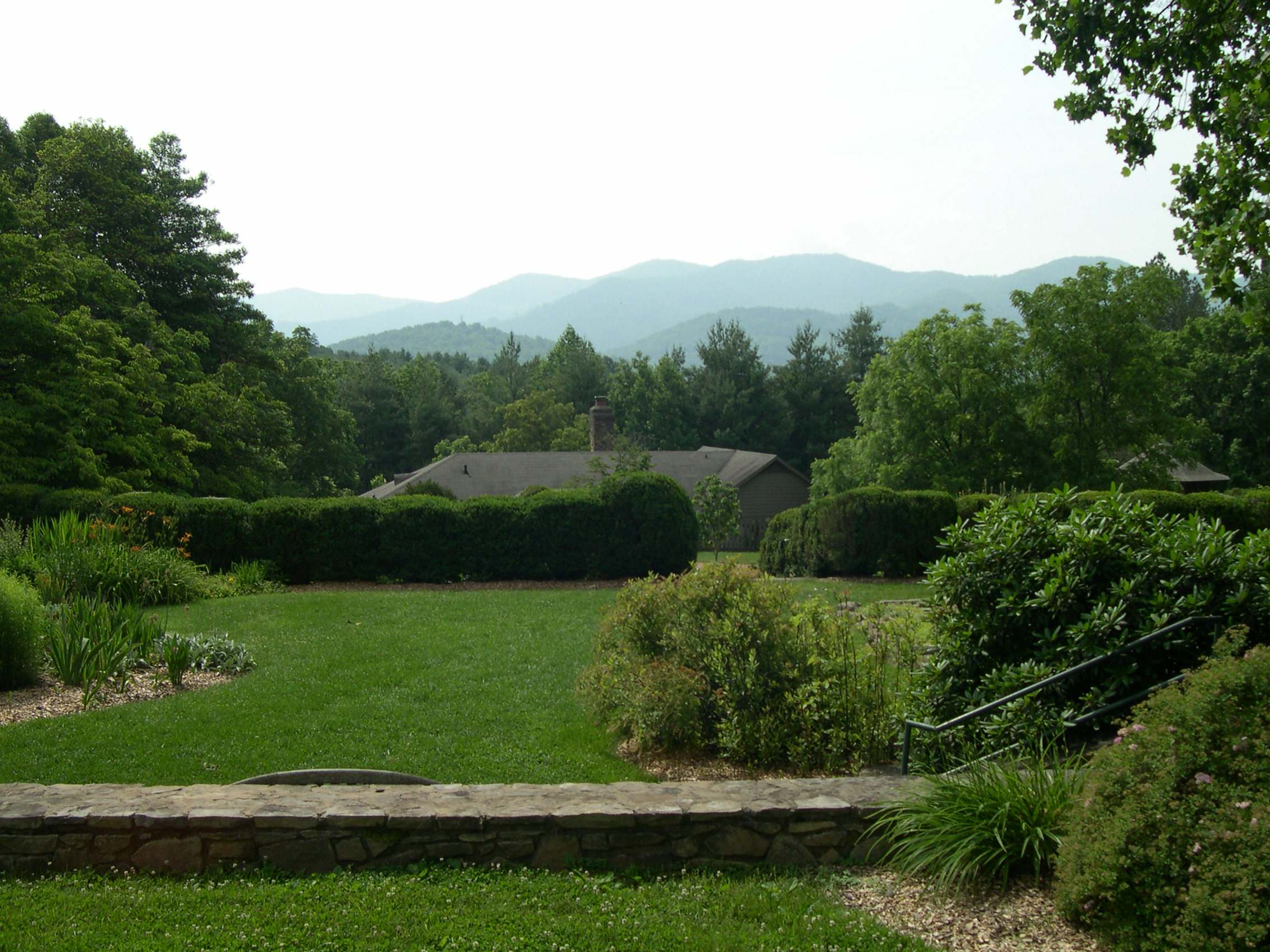 Warren Wilson College  In the mountains above Asheville, North Carolina