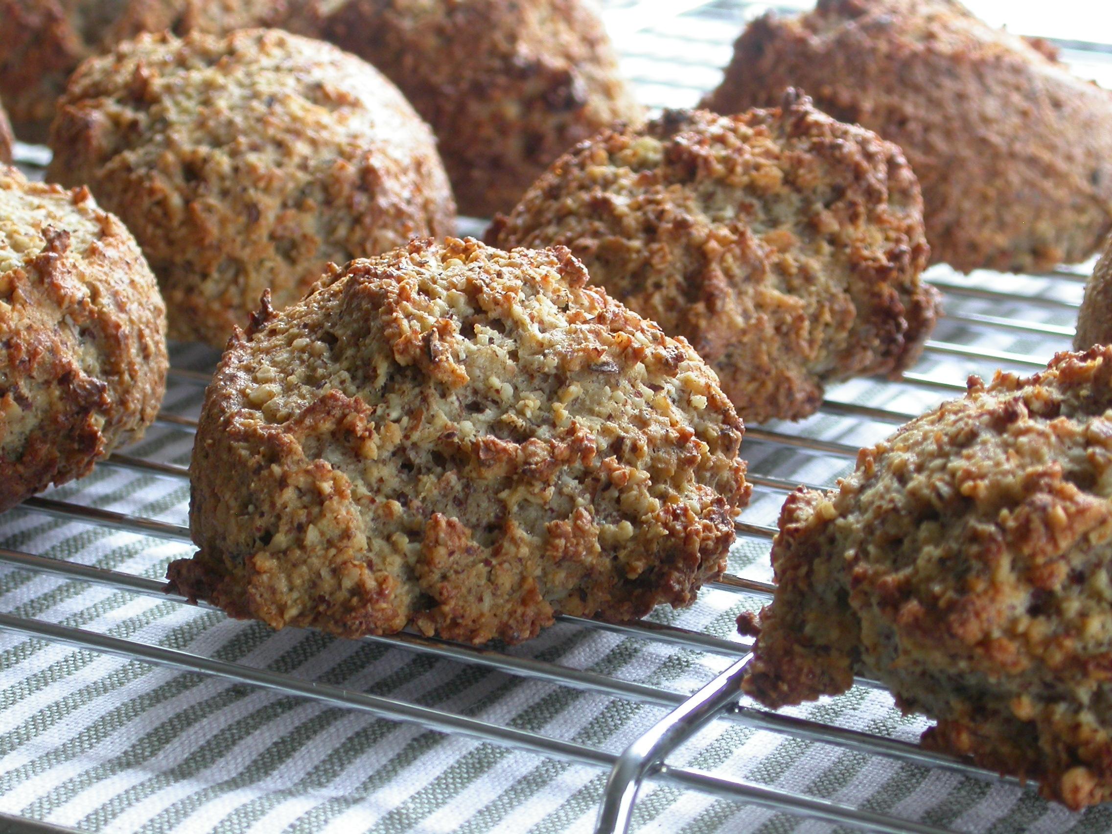 Proteinrige, glutenfrie boller