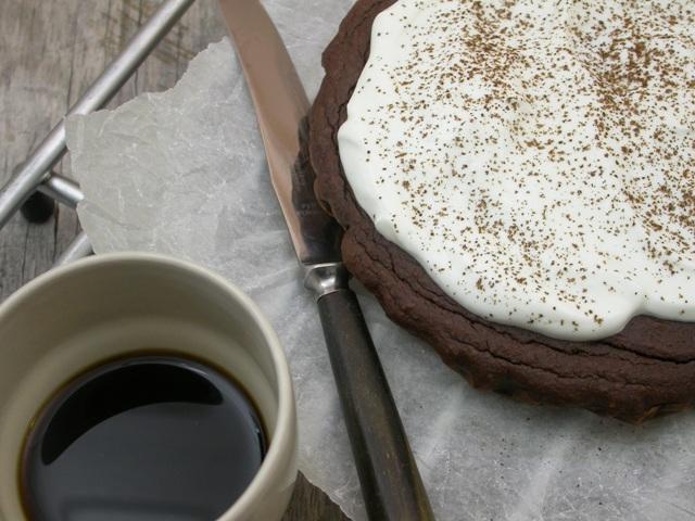 Chokoladekage uden mel og tilsat sukker