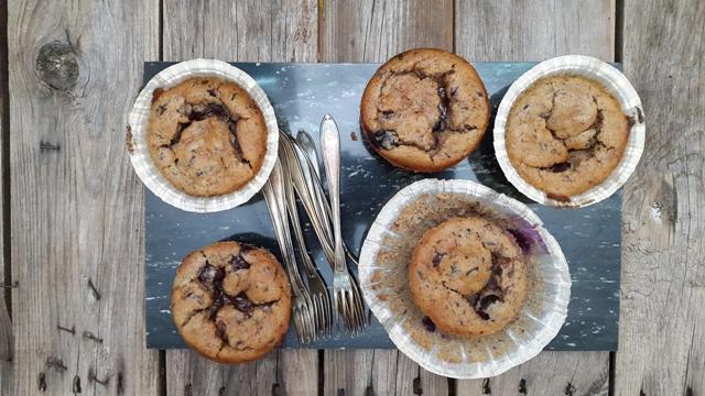 Muffins uden mel og tilsat sukker