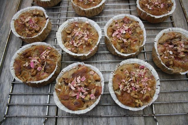 Rabarberkager uden mel og tilsat sukker