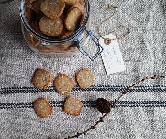 Vanilje-småkager (glutenfri)