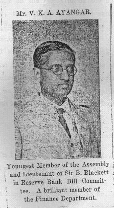 A newspaper clipping about my grandfather from the early 1930s.