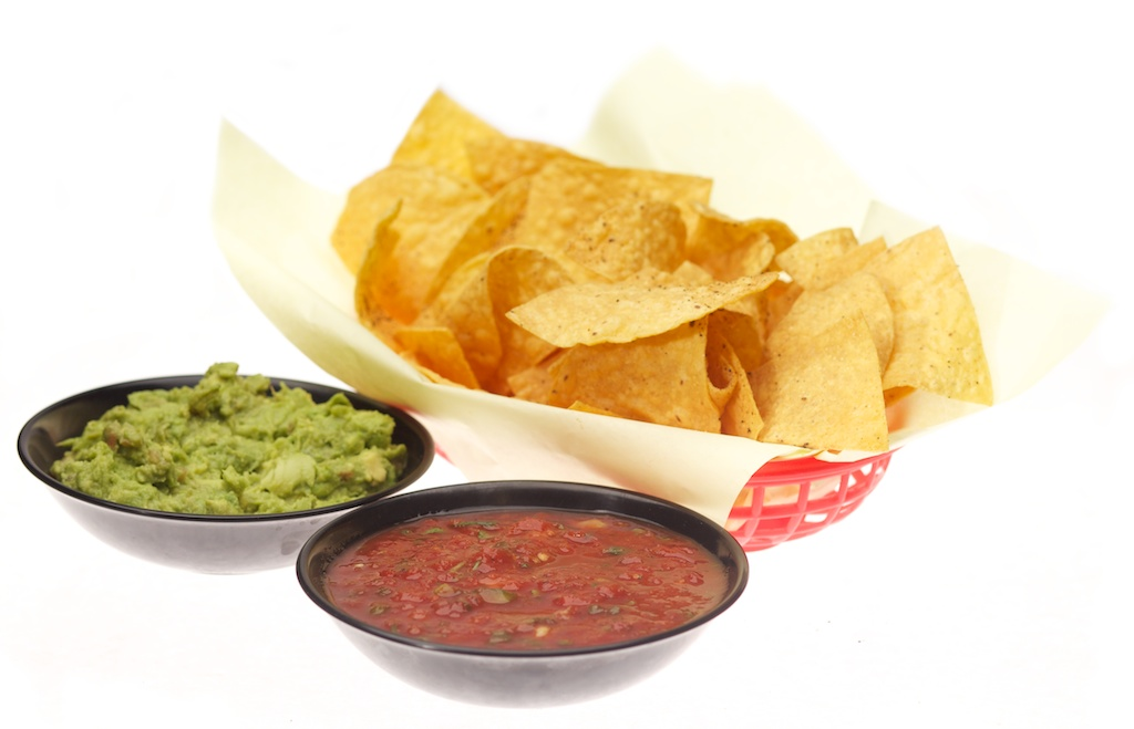 Chips, Salsa, and Guacamole