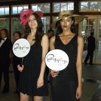 Eggcup hats on models.jpg