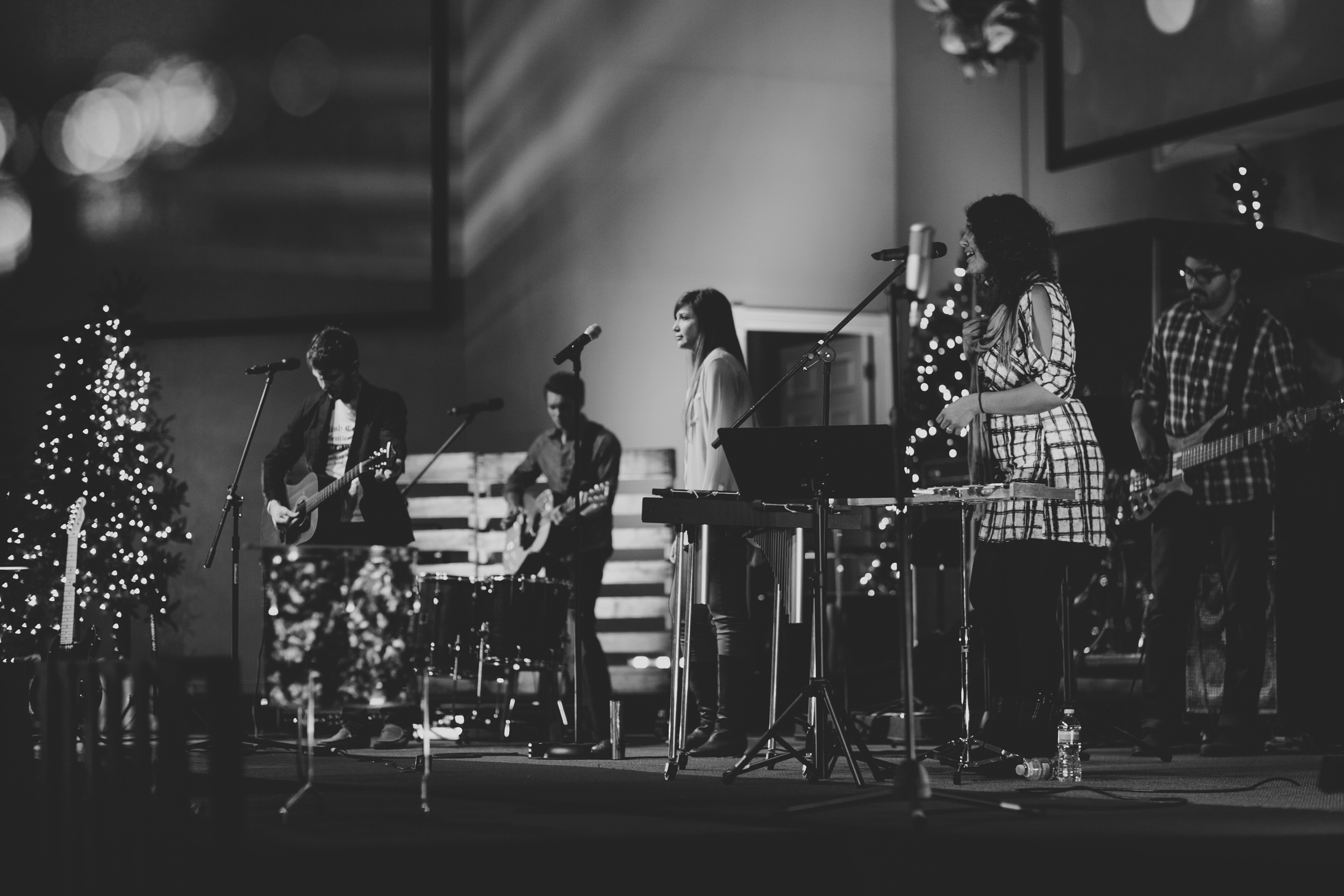 Our first Christmas Concert at The Crossing Church, 2012.