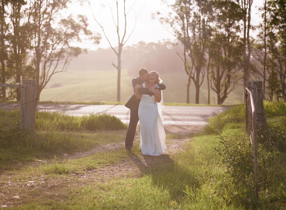 Erin and Jason  Harvest Cafe Wedding - Byron Bay