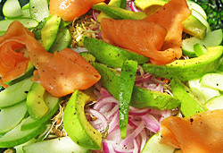 Avocado Salad Photo : Jackie Cameron