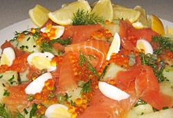 Salmon Potato Salad Photo : Jackie Cameron