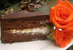 Sachertorte - Austrian Chocolate Cake  Photo : Jackie Cameron
