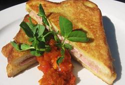 French Toast Sandwich Photo : Jackie Cameron