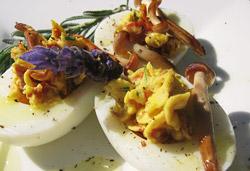 Deviled or Stuffed Eggs  Photo : Jackie Cameron