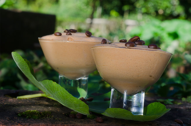 Coffee Chocolate Mousse Photo : Karen E Photography