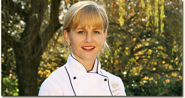 Hartford House Executive Chef Jackie Cameron / Sally Chance (p)