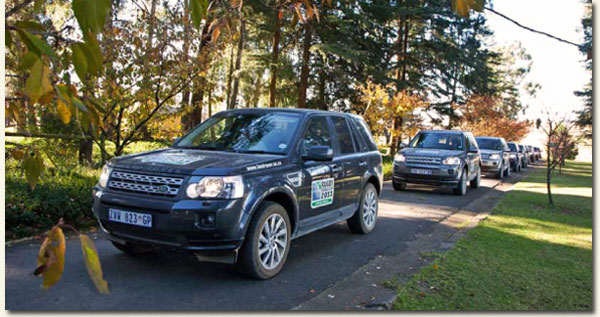 The state-of-the-art Land Rover Freelander 2 fleet / Sally Chance (p)