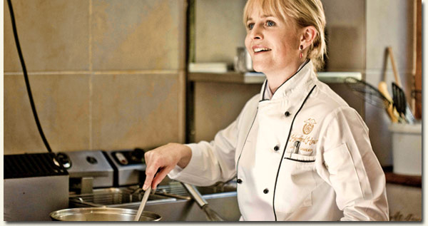 Hartford House Executive Chef Jackie Cameron /Cooked (p)