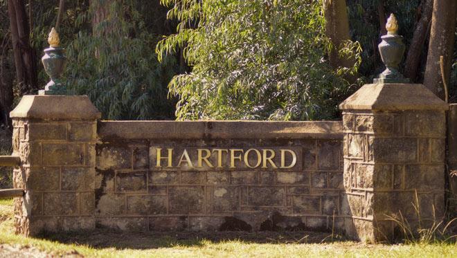 Entrance to the Hartford Estate /Leigh Willson (p)