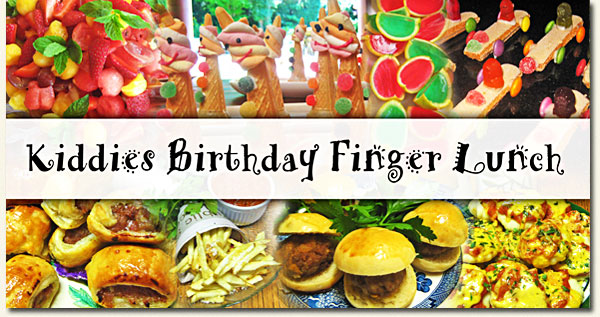 kiddies birthday finger lunch post image