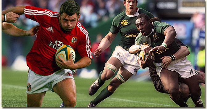 British & Irish Lions vs Springboks /Lions Rugby/SA Rugby (p)