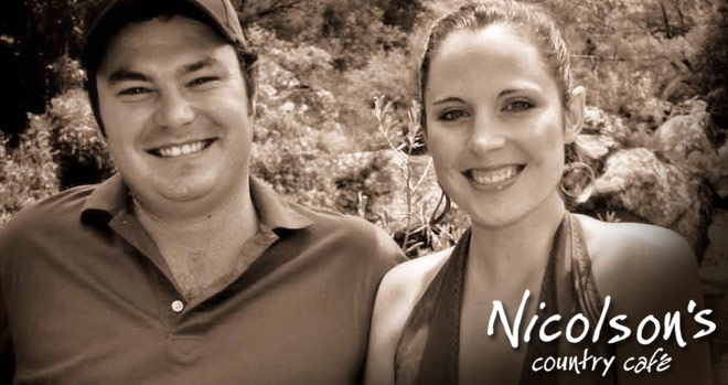 Jonty and Tanya Nicolson - Nicolson's Country Cafe