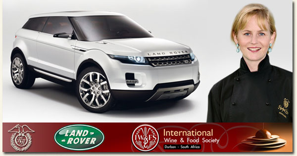 land rover and food and wine society