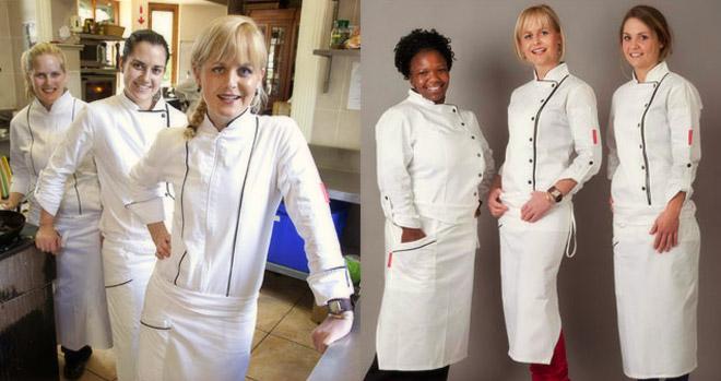 Jackie Cameron Chef Clothing Range / Jackie Cameron (p)