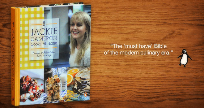 Jackie Cameron Cooks at Home