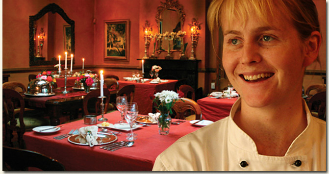 Hartford House Head Chef Jackie Cameron / Patrick Royal - Hartford House (p)