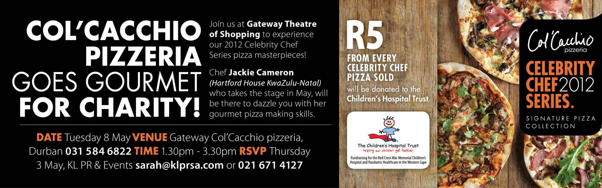 Celebrity Chef Series May 2012