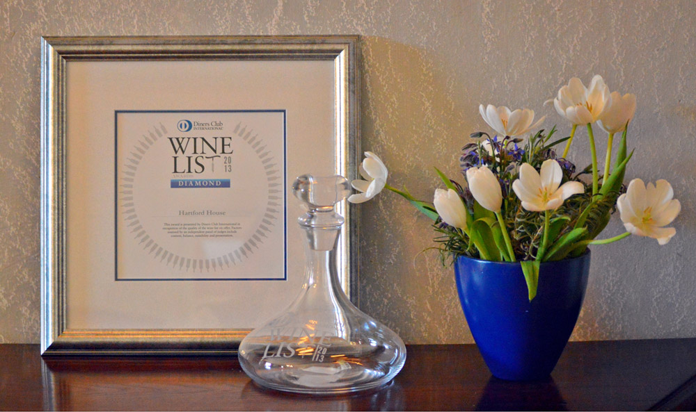 Diners Club Diamond Wine List Award