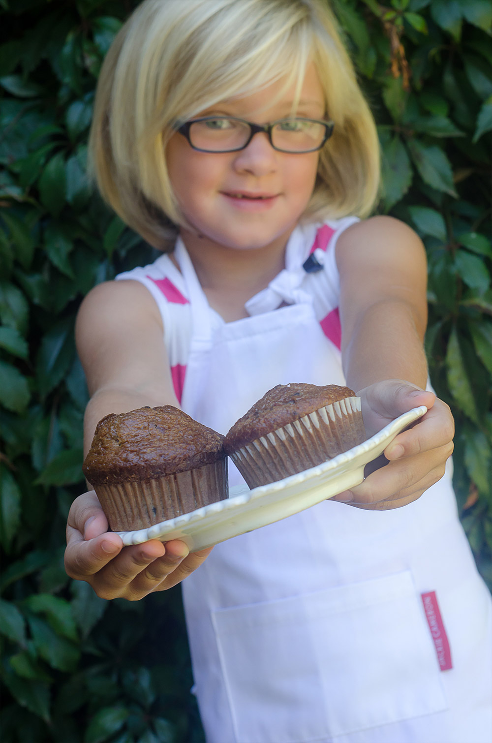 Paige and her Banana Muffins / Karen E Photography (p)