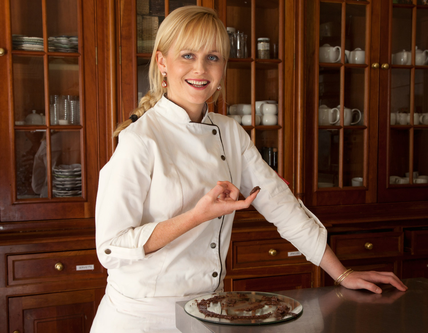 Chef Jackie Cameron / Sally Chance (p)