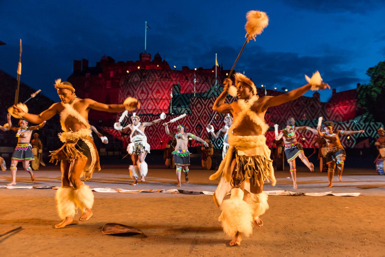 Zulu Dancers - Edinburgh Military Tattoo 1