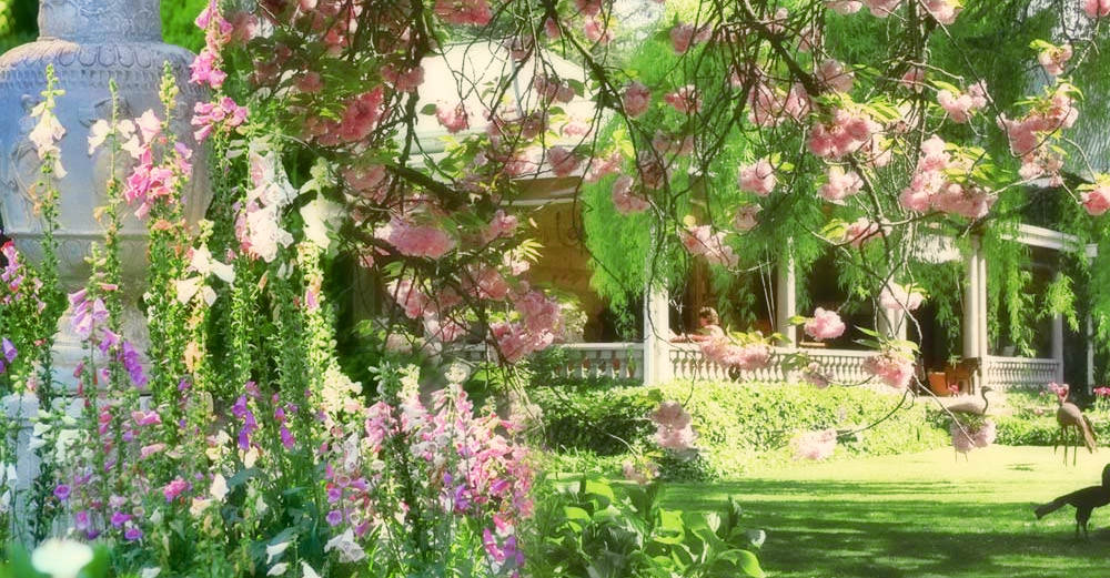 "Hartford prides herself on her gardens, once described by celebrated author, Nancy Gardner, as the ""jeweled buckle of the Midlands""."
