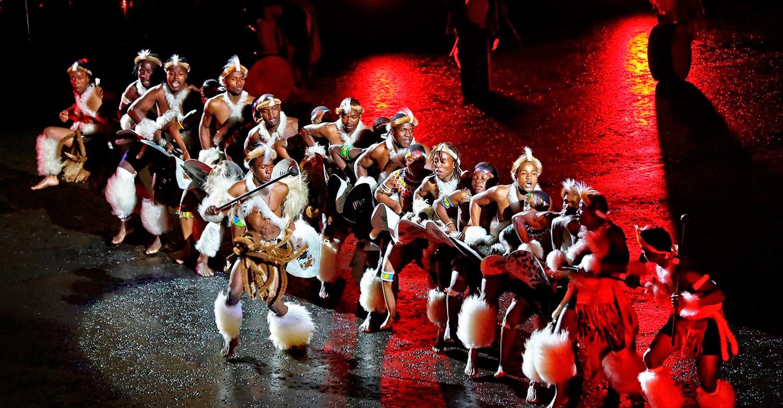iNgobamakhosi Zulu Dance Troupe at the Royal Edinburgh Military Tattoo /Pavol Čepček