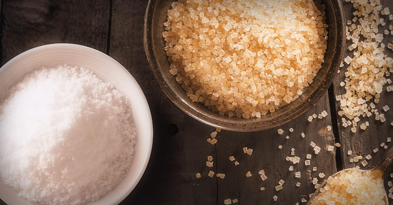 Natural Sugar and Salt