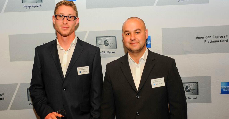 Constantijn Hahndiek and Duncan Bruce / American Expres