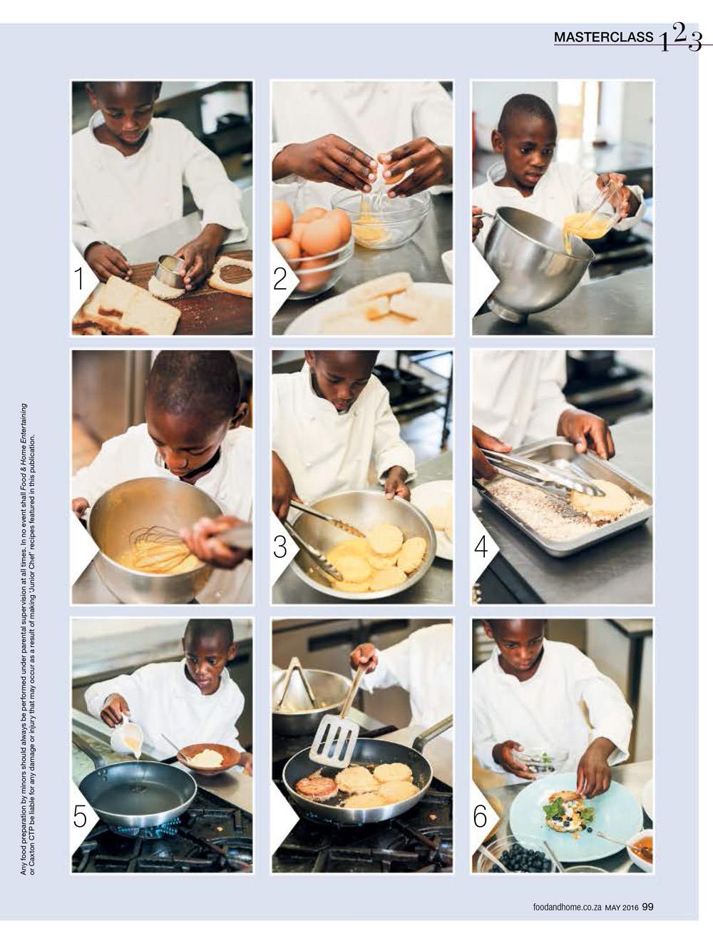 Refiloe Simpiwe Motaung Junior Chef 2