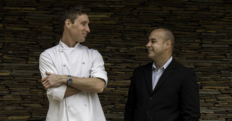 Head Chef Constantijn Hahndiek & GM Duncan Bruce