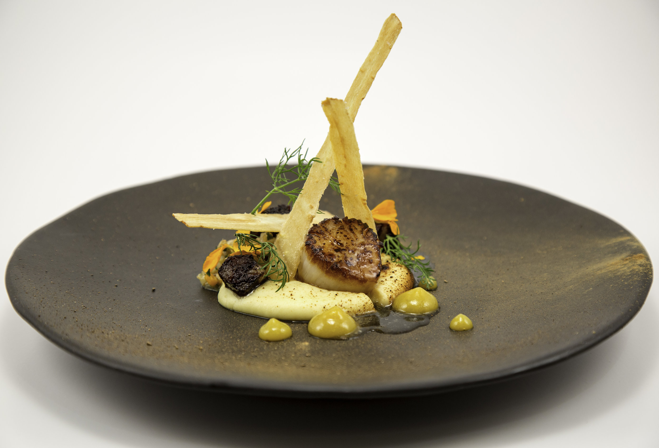 Hartford House Scallop Dish