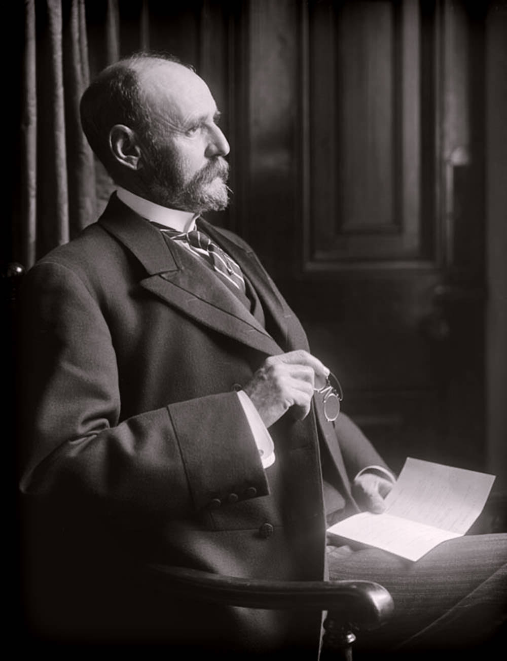 Sir Frederick Moor - Prime Minister of Natal (1906 - 1910) - Lafayette Negative Archive (p)