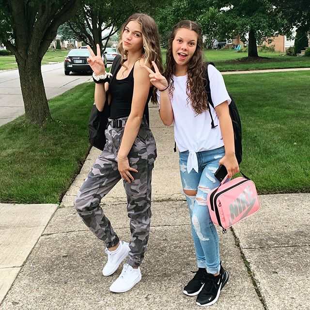 First day of 8th grade!