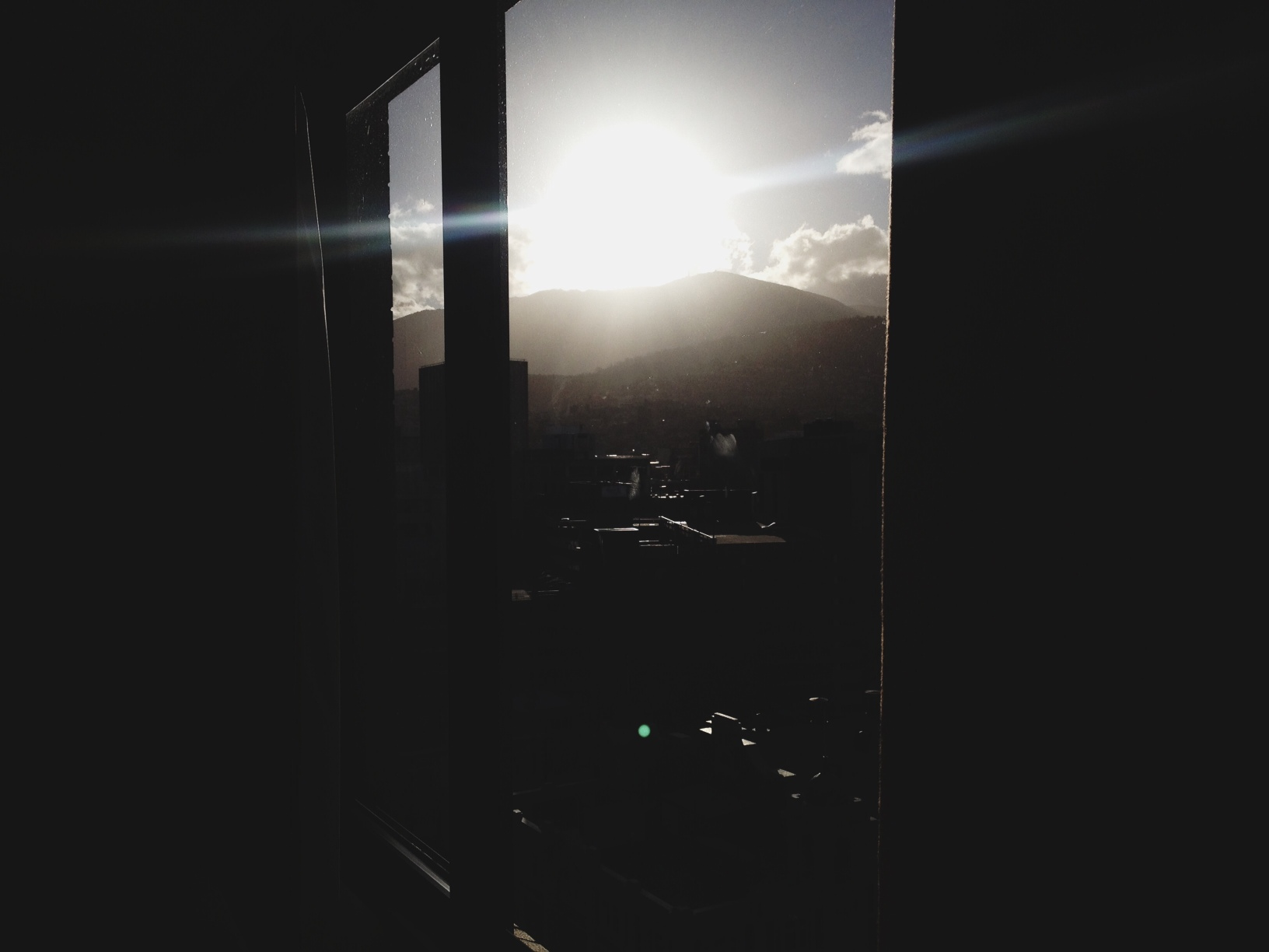 Sunset, Hobart