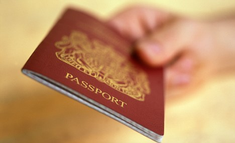 CLICK IMAGE FOR APPLICATION FORMS FOR A BRITISH PASSPORT