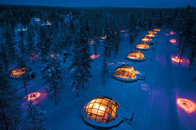 Kakslautten Igloo Village—finland
