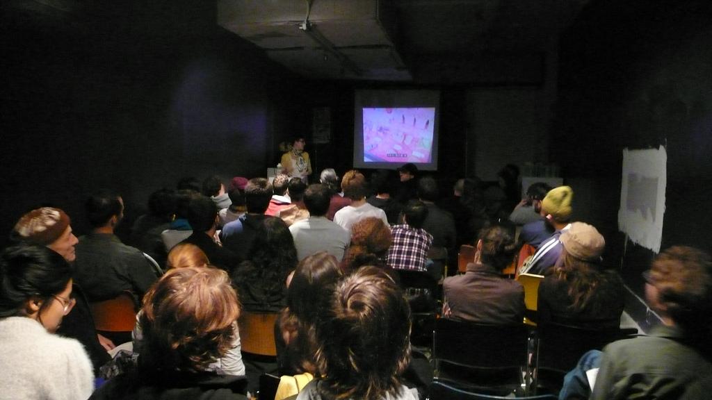 Dr. Amy Starecheski presents her research at ABC No Rio